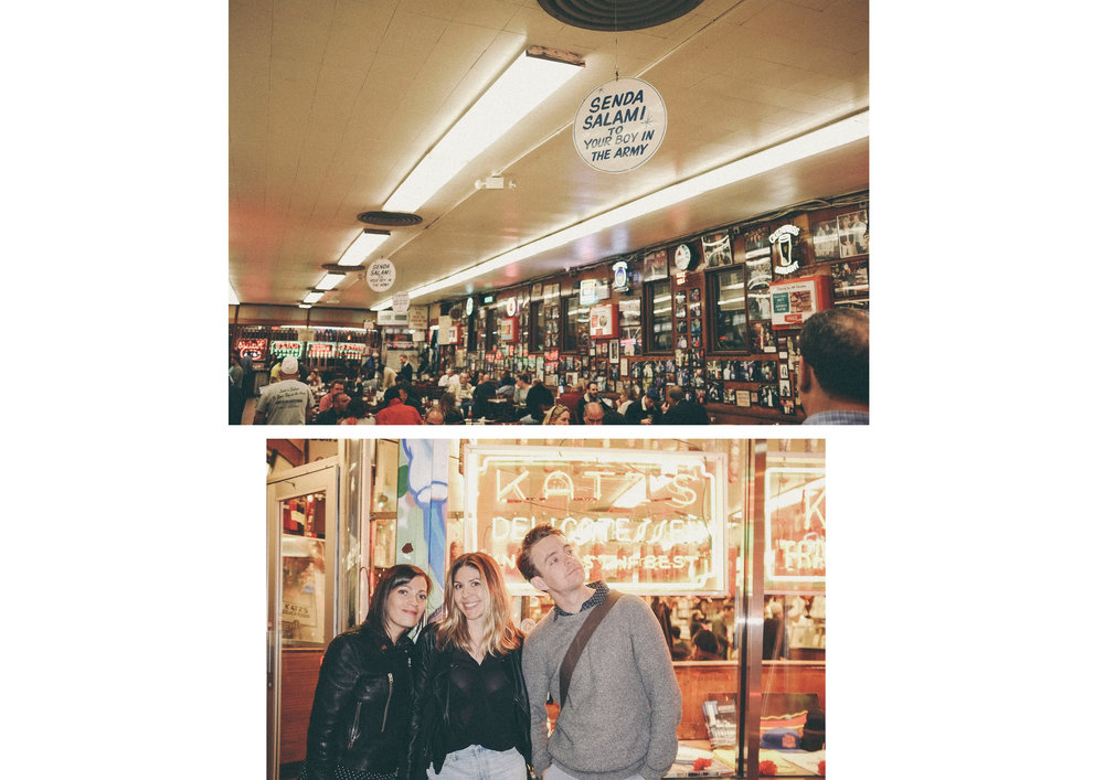 dérrive travel - KATZ'S DELI, new york #katzsdeli #soho #dumbo #newyork #nyc #brooklyn