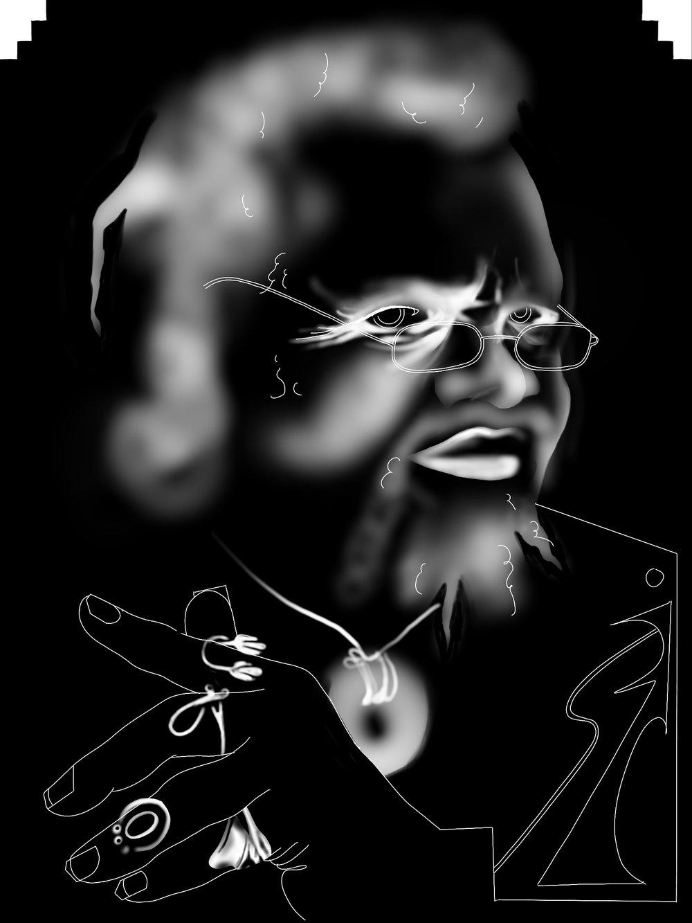 Illustration for Ad Hoc Mag