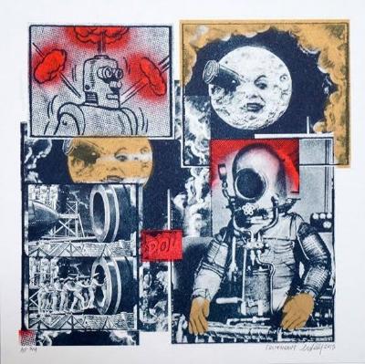 Cosmonaut by AM DeBrincat