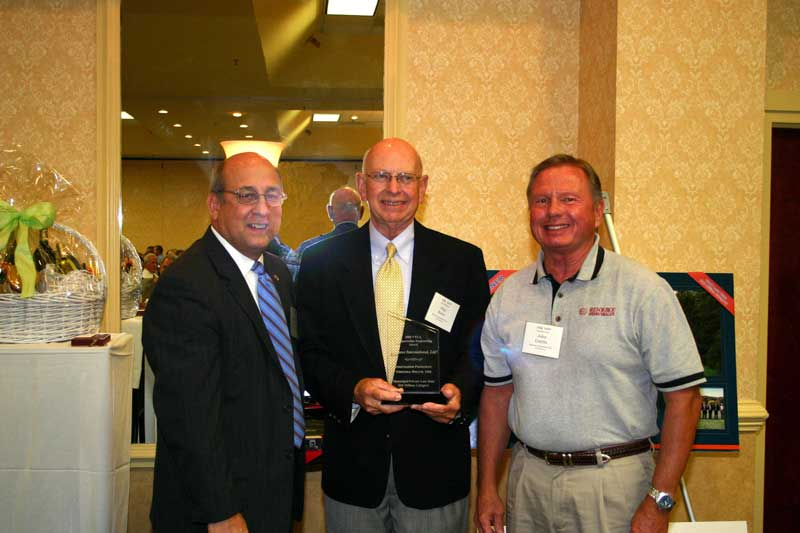 From left: Mal Kerley, Chief Engineer VDOT, Resource's Paul Royer, PE and John Combs, PE