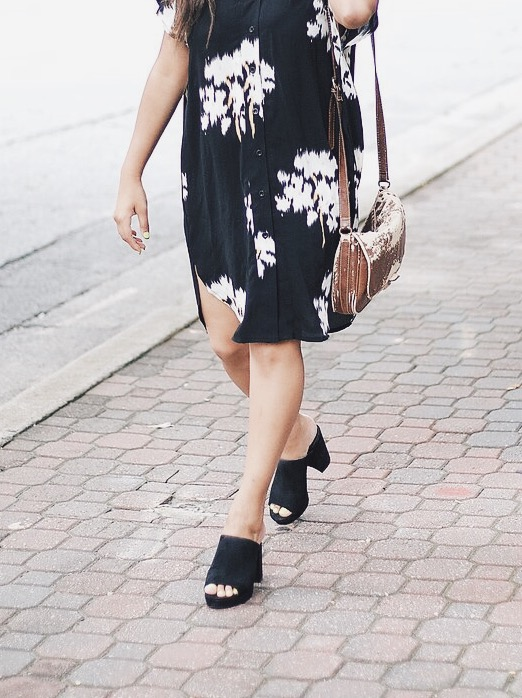 Sandals Black Mules Forever 21 Fashion Blogger.jpeg