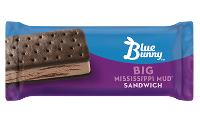 Big Mississippi Fudge Sandwich