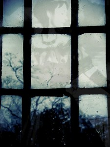 Gillian, Bertha's Window. Photographic print, 8 x 10 inches. © 2010