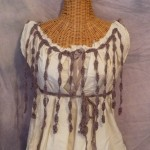 Pisces Full Moon Artist Feature: Dried Lavender Petals Dress Eco Friendly Dress, Cotton Homespun Yarn
