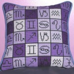 Astrology Needlepoint Kit by Michelle