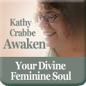 Awaken Your Divine Feminine Soul Button