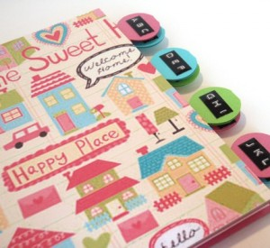 Happy Home Address Book by Edi Royer