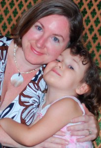 Taurus Artist, Jen & her daughter