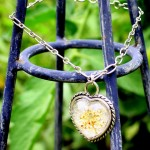 Queen Anne's Lace Silver Sweetheart Bracelet