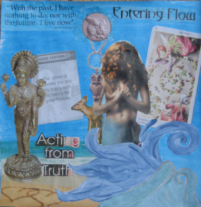 Aquarius New Moon Collage by Michelle B.