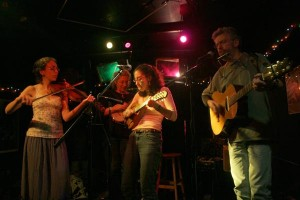 Annalee Jacofsky in the Home Grown String Band