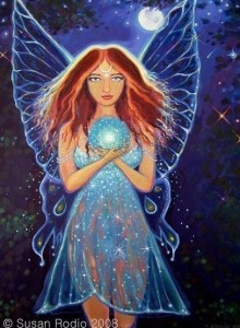 Rainbow Mystic Fairy by Susan Rodio