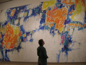 Norton Simon Museum - Sam Francis Painting