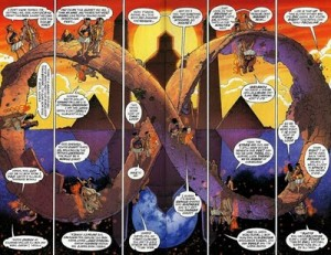 illustration from Promethea by Alan Moore