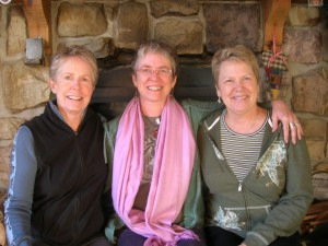 Sally, Kathy & friend - Solstice Celebration