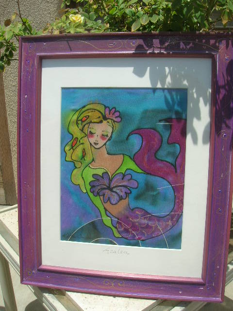 Azalea Mermaid by Kathy Crabbe