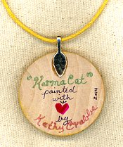 Back of Necklace by Kathy Crabbe