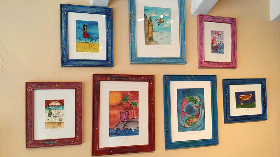 Mystic Arts Gallery features art by Kathy Crabbe
