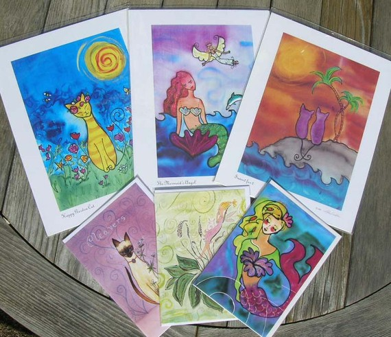 LuLu in Laguna art prints and cards by Kathy Crabbe