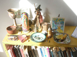 Kathy Crabbe altar