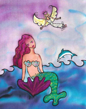 Mermaids Angel by Kathy Crabbe