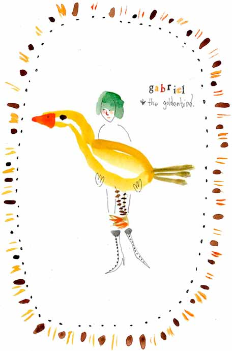 Gabriel and the golden bird by Kathy Crabbe