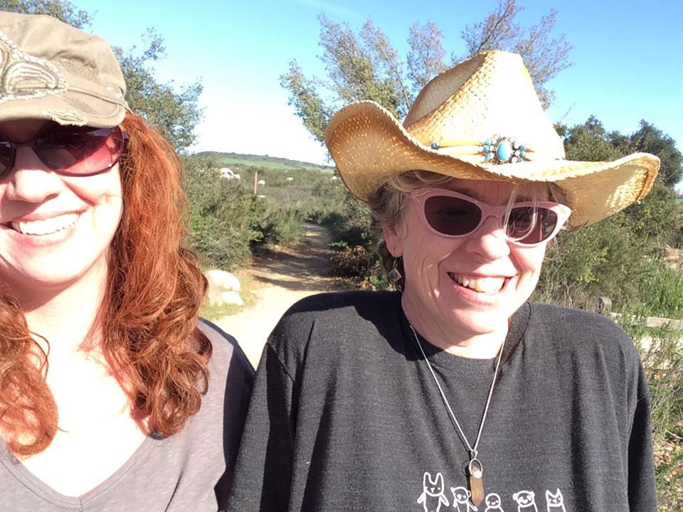Me & Tange Santa Rosa Plateau