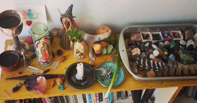 full moon in scorpio altar