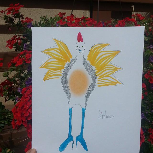 birdman by k. crab