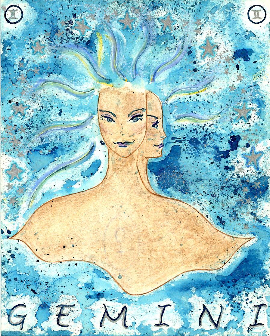 Gemini Goddess by Kathy Crabbe