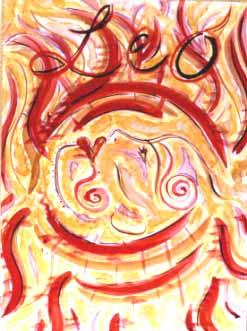 Leo Goddess by Kathy Crabbe