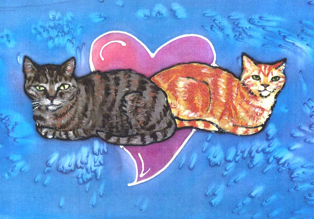 cat heart by Kathy Crabbe