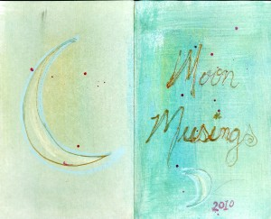 Kathy' personal Moon Musing Journal Cover