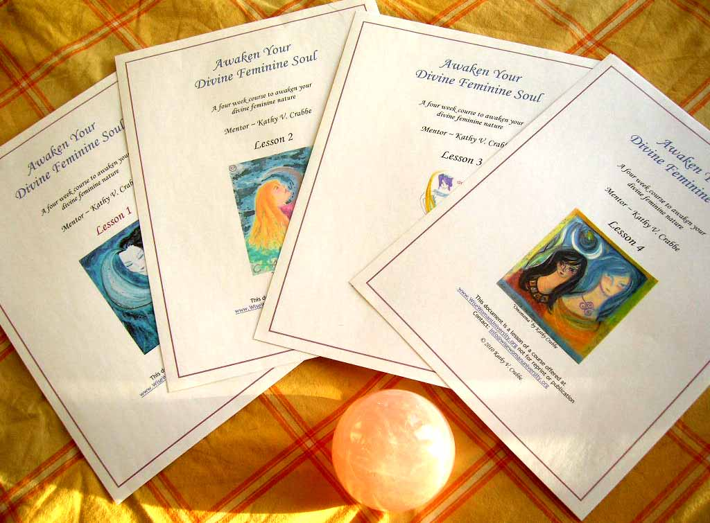 Ecourse kathy crabbe four ebook lessons assignments dive into over 40 pages of lunar guided inspiration to awaken and inspire your divine feminine soul fandeluxe Choice Image
