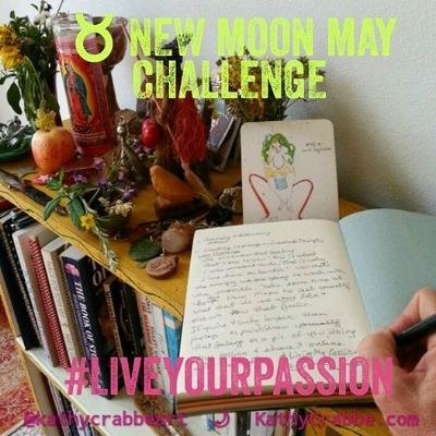 Taurus New Moon Challenge by Kathy Crabbe