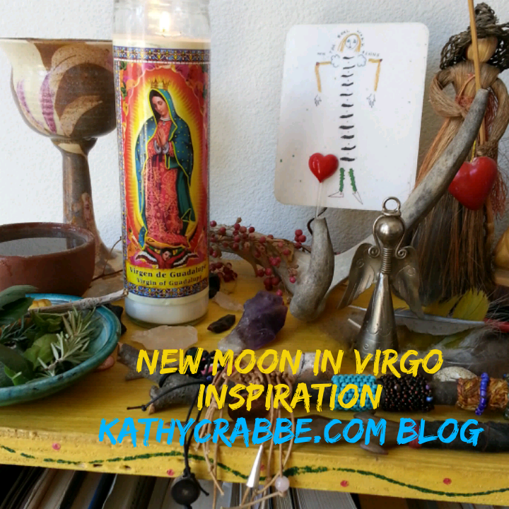 My Virgo Altar (in my bedroom).
