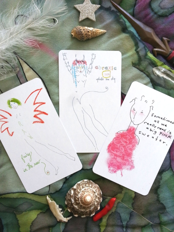 Creative Soul Cards from the Deck by Kathy Crabbe