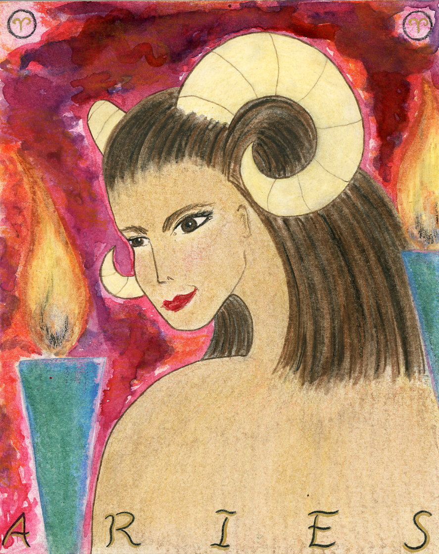 Aries Goddess by Kathy Crabbe