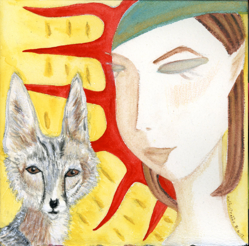 Kit Fox by Kathy Crabbe