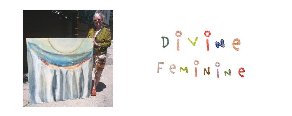 Divine Feminine Abstracts
