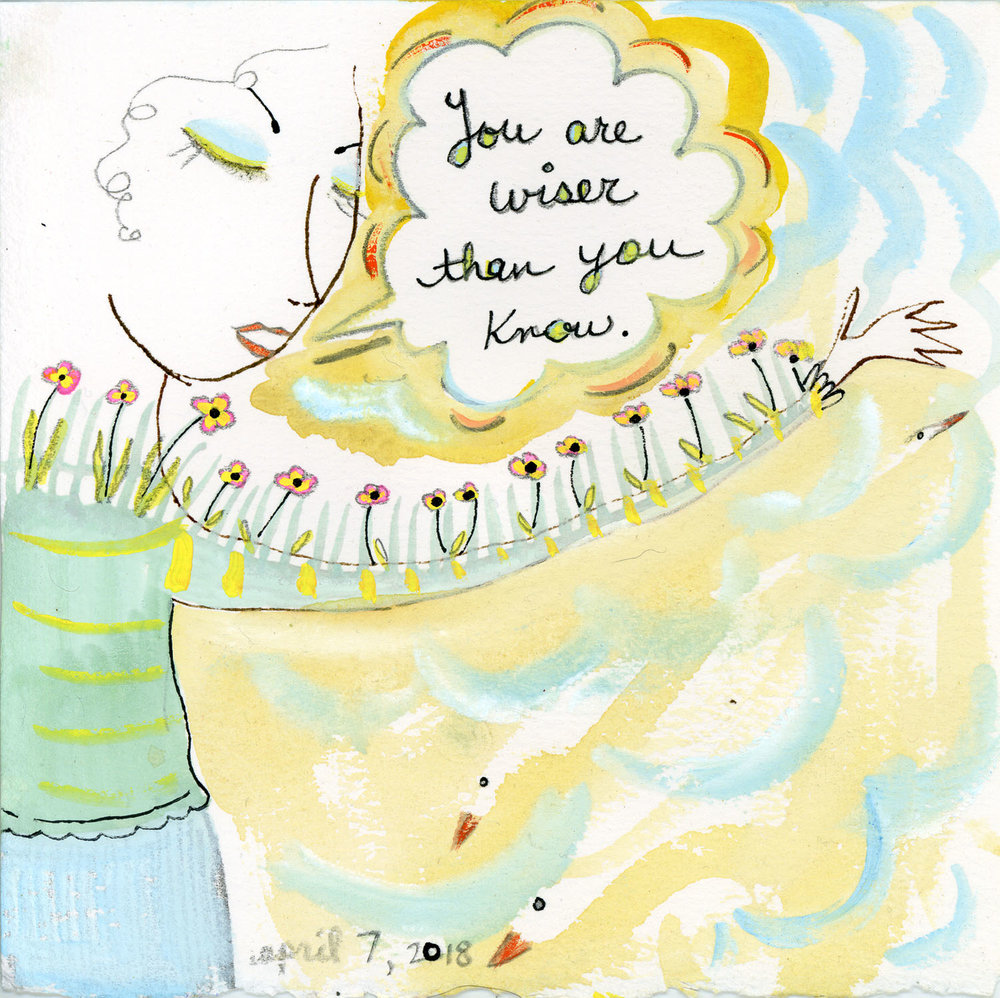 You are wiser than you know by Kathy Crabbe