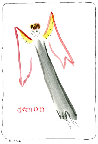 Demon by Kathy Crabbe (Lefty Oracle)