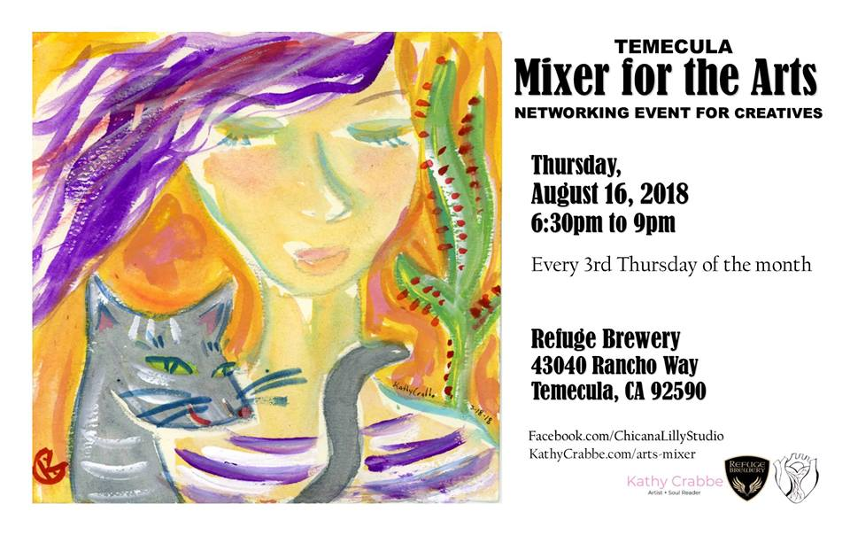 Temecula Mixer for the Arts poster