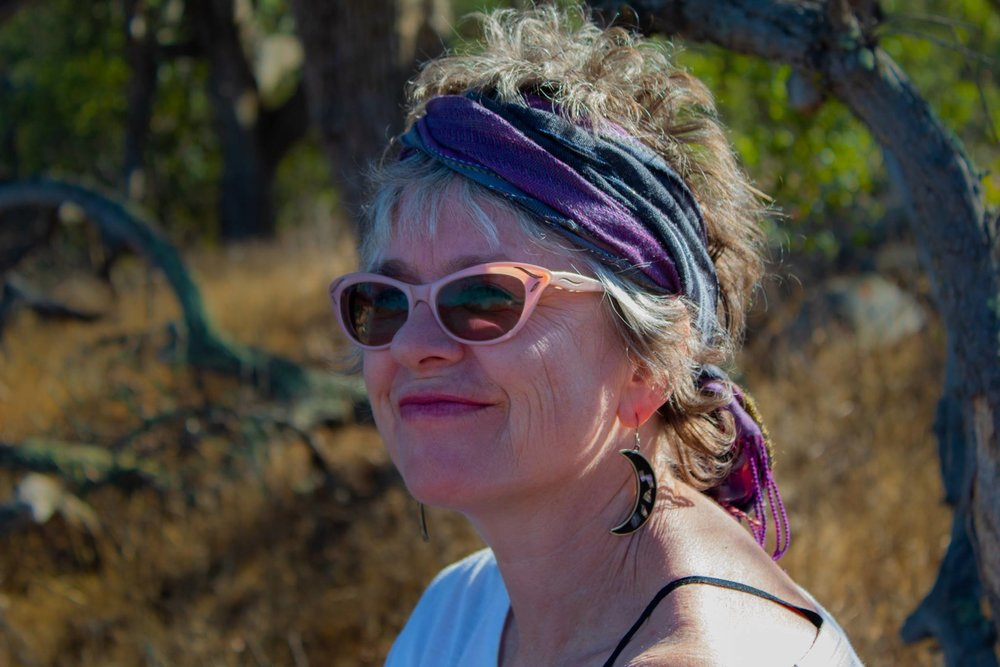 Kathy Crabbe at the Santa Rosa Plateau, Oct, 2018