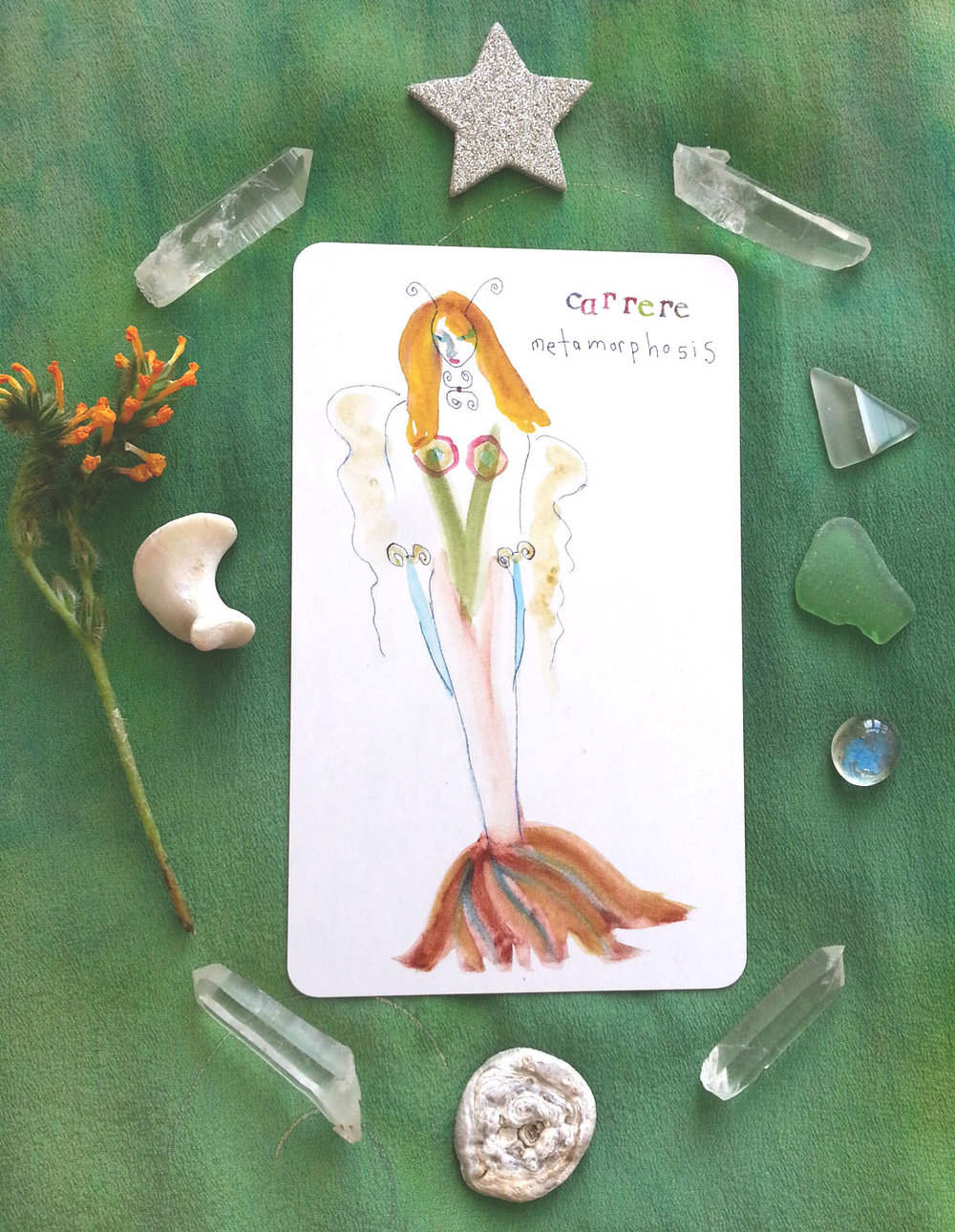 """Carerre"" by Kathy Crabbe from the Lefty Oracle Deck. Purchase a hand signed print    here   ."