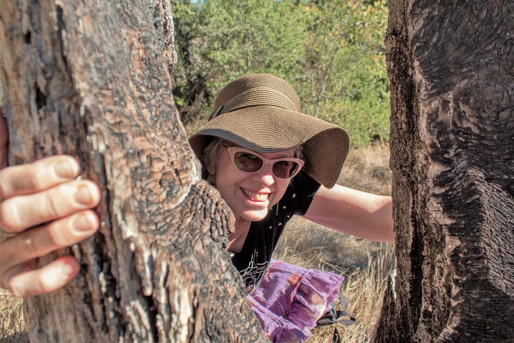 Kathy Crabbe at the Santa Rosa Plateau