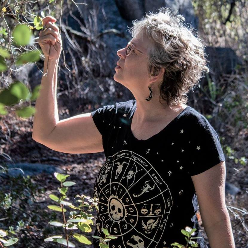 Kathy Crabbe at the Santa Rosa Plateau, CA 2018