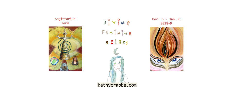 Sag Term - Divine Feminine eClass by Kathy Crabbe