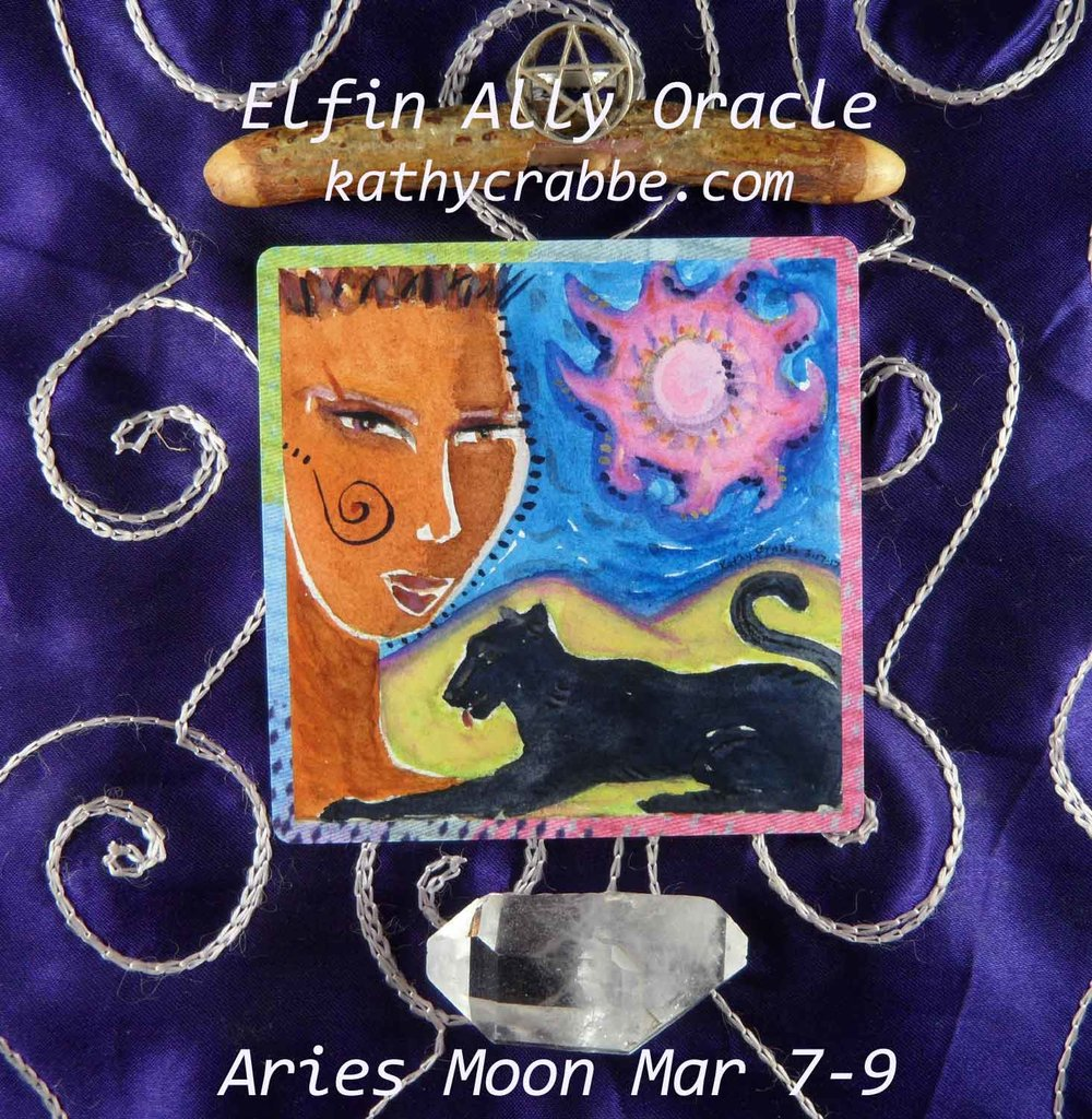 Aries Moon-Vibes by Kathy Crabbe