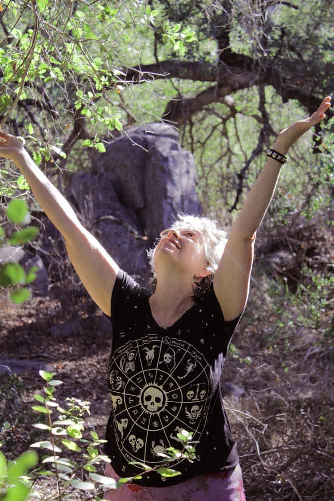 Kathy Crabbe at Santa Rosa Plateau, Southern California